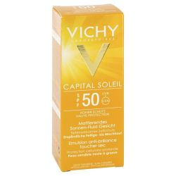 Vichy Ideal Soleil * Krem matujący SPF 50+ - 50 ml