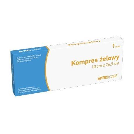 Kompres żelowy - Apteo Care* 10 cm X 26, 5 cm * 1 sztuka