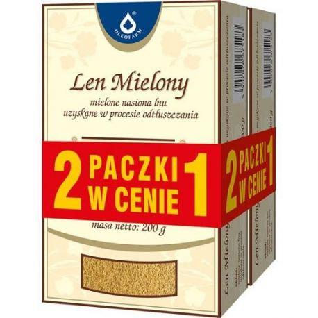 Len mielony * 200 g+200 g