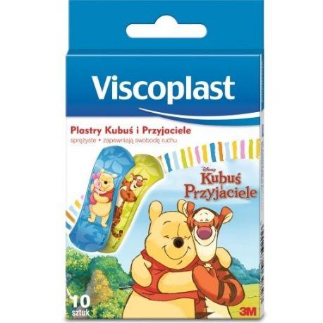 Viscoplast - Kubuś Puchatek * zestaw plastrów ochronnych * 10 sztuk