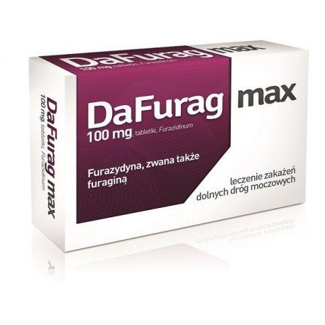 Dafurag Max - 100 mg * 30 tabletek