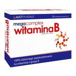 Mega Vitamina B Complex - AVET * 50 tabletek