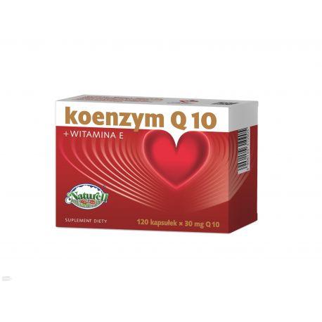 Naturell Koenzym Q10 z Vitaminą E * 120 kapsułek