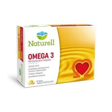 Naturell Omega -3 * 500 mg * 120 kapsułek