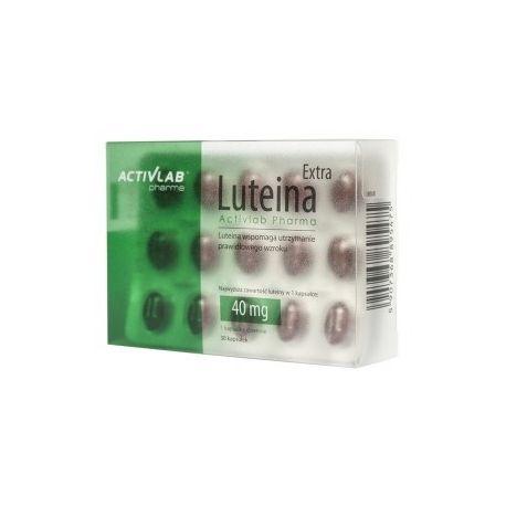 Luteina Extra Activlab Pharma * 30 kapsułek