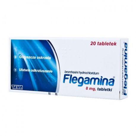 Flegamina 8 mg * 20 tabl