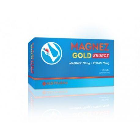 Magnez Gold Skurcz * 50 tabletek