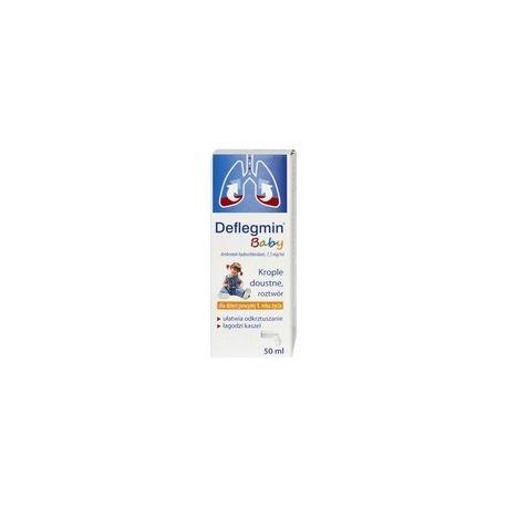 Deflegmin  7,5 mg / ml * krople doustne * 50 ml