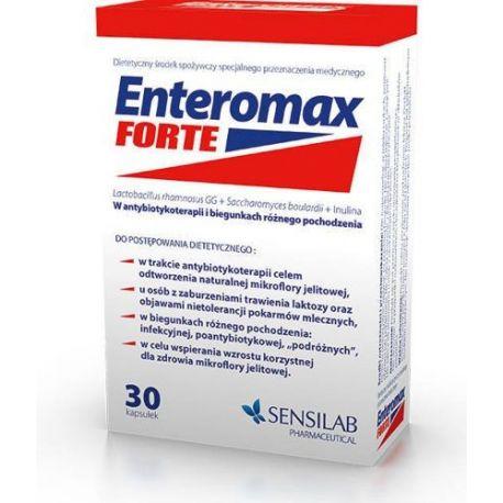Enteromax Forte * 30 kaps