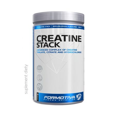 Formotiva Creatine STACK * Apple lemon * 500g