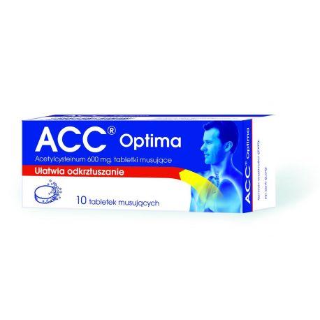 ACC Optima - 600mg * 10 tabletek musujących