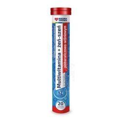 Rodzina Zdrowia Multivitamina + Żeń - szeń * tabletki musujące * 20 sztuk