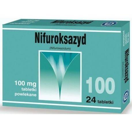 Nifuroksazyd 100 mg * 24 tabl