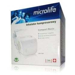 Microlife Inhalator Kompresowy * NEB 100 B * 1 sztuka