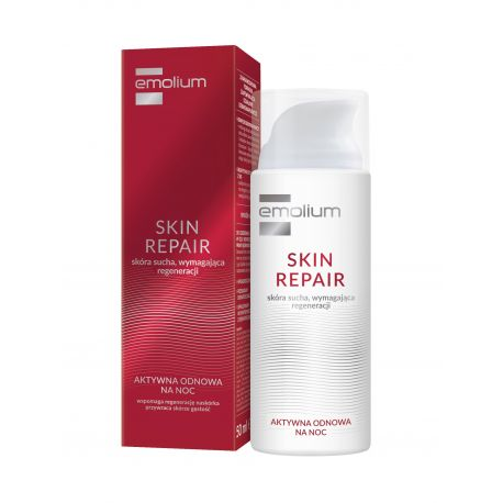 Emolium Sin Repair * krem - aktywna odnowa na noc * 50 ml
