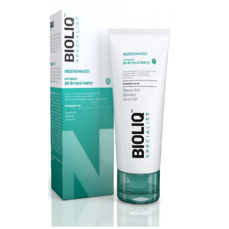 Bioliq Specialist - Niedoskonałości * żel peelingujący do mycia twarzy * 125 ml