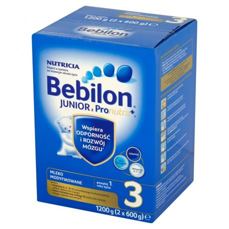 Bebilon 3 - Junior *  Mleko z Pronutra+ * od 1 roku * 1200g