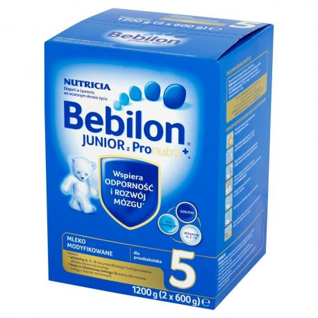 Bebilon Junior 5 z Pronutra * mleko * 1200g