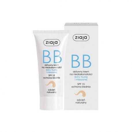 Ziaja * krem BB do skóry tłustej i mieszanej - odcień naturalny * 50 ml