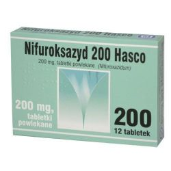 Nifuroksazyd 200 mg * 12 tabl