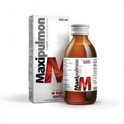 Maxipulmol * syrop na suchy kaszel * 120 ml