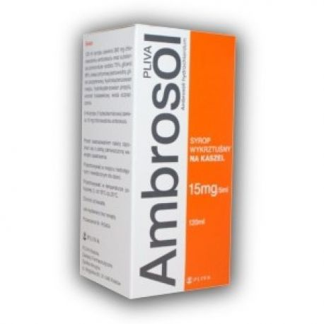 Ambrosol Teva  * Syrop - 0,015g / 5 ml  * 120 ml