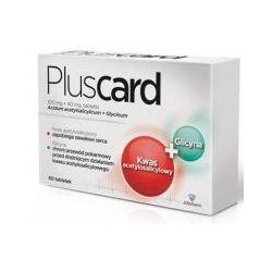 Pluscard 100 mg + 40 mg * 60 tabletek