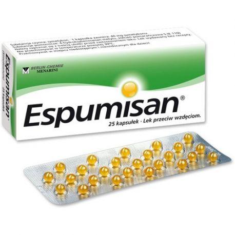 Espumisan 40 mg * 25 kupsułek