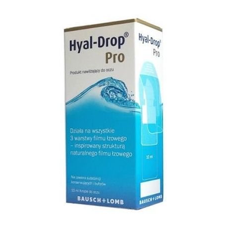 Hyal -Drop Pro * krople do oczu * 10 ml