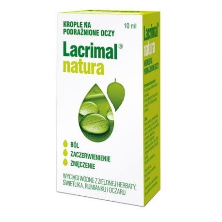 Lacrimal Natura * krople do oczu * 10 ml