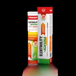 Pharmasis Elektrolity + Kofeina * tabletki musujące * 24 sztuk