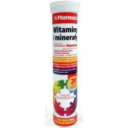 Pharmasis Witaminy i Minerały * tabletki do rozpuszczenia * 20 sztuk