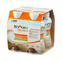 Resource 2.0 Fibre * p łyn o smaku kawowym * 4X 200 ml