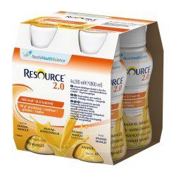 Resource 2.0* płyn o smaku ananas, mango * 4 X 200 ml