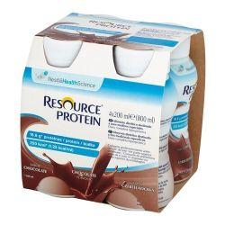 Resource Protein * płyn o smaku czekoladowym * 4 X 200 ml