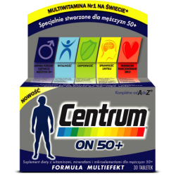 Centrum ON 50+ * 30tabletek