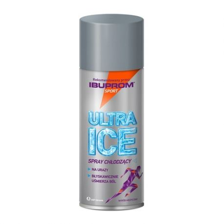 Ultra Ice * spray chłodzący * 200 ml