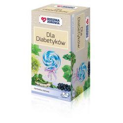 Rodzina Zdrowia * dla diabetyków zioła do zaparzania * 20 saszetek
