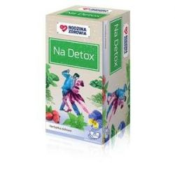 Rodzina Zdrowia * na detox zioła do zaparzania * 20 saszetek