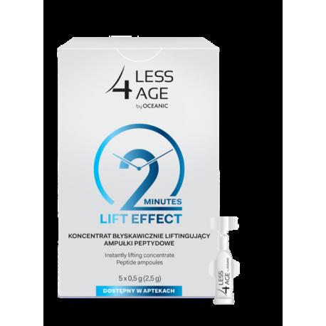 Less4Age * koncentrat błyskawicznie liftigujący - ampułki peptydowe * 2, 54 g