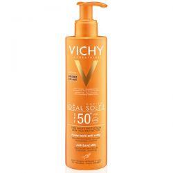 """Vichy Ideal Soleil * mleczko do twazry i ciała  """" przeciw piaskowi""""* 200 ml"""