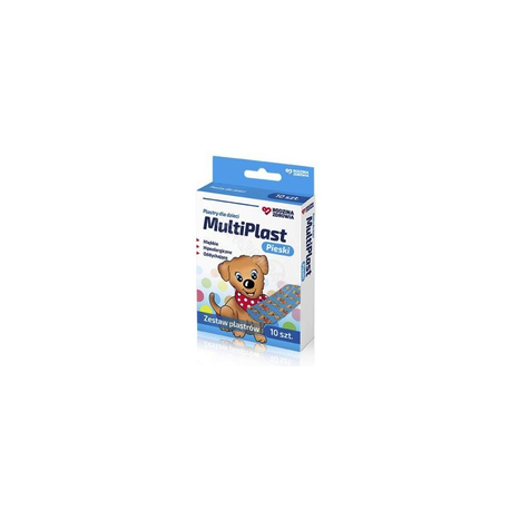 Rodzina Zdrowia MultiPlast Pieski *plastry dla dzieci * 10 sztuk