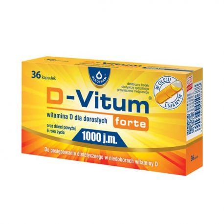 D-vitum * 1000j.m. * 36 kapsułek twist - off