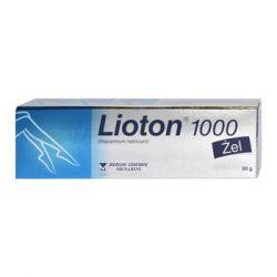 Lioton 1000 , 8,5 mg / g * 30 g żel