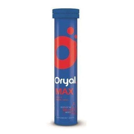 Oryal Max * tabletki musujące * 15 sztuk