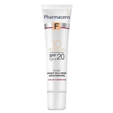 Pharmaceris F * fluid do skóry naczynkowej 10 Porcelain SPF  20 * 30ml