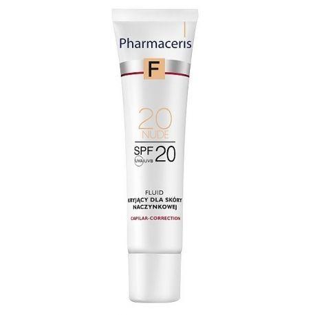Pharmaceris F * fluid do skóry naczynkowej 20 NUDE SPF 20 * 30 ml